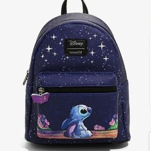 Loungefly Disney Stitch Starry Night Mini Backpack
